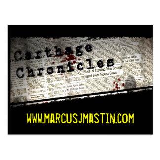 Carthage Chronicles Postcard