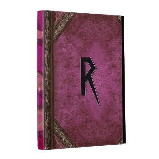 Carthe Rouge Old Book Style iPad Folio Case