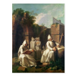Carthusian Monks in Meditation Post Cards