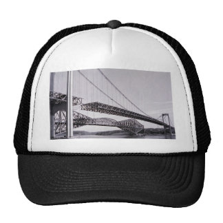 Cartier Bridge under construction, Quebec City, Qu Trucker Hat