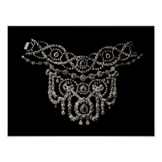 Cartierr Necklace ~ Print Poster