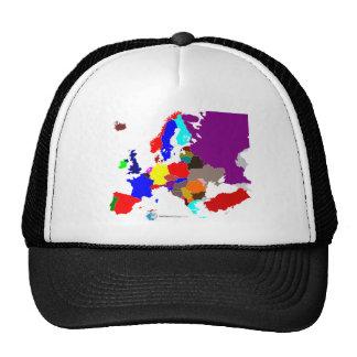Cartina Destinazioni Europa Cap