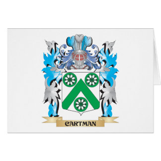 Cartman Coat of Arms - Family Crest Cards