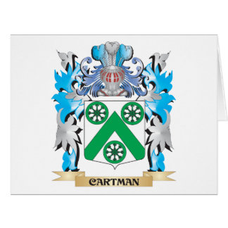 Cartman Coat of Arms - Family Crest Greeting Card