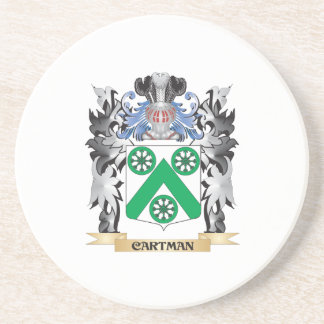 Cartman Coat of Arms - Family Crest Drink Coaster