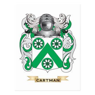 Cartman Coat of Arms (Family Crest) Postcard