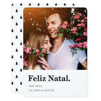 Cartões comemorativos | Feliz Natal estrelas Card