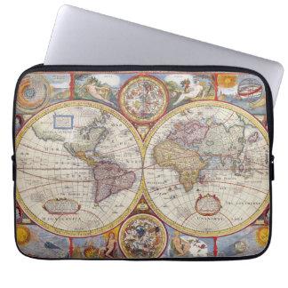 Cartografía antigua del mapa de Viejo Mundo del Mangas Computadora