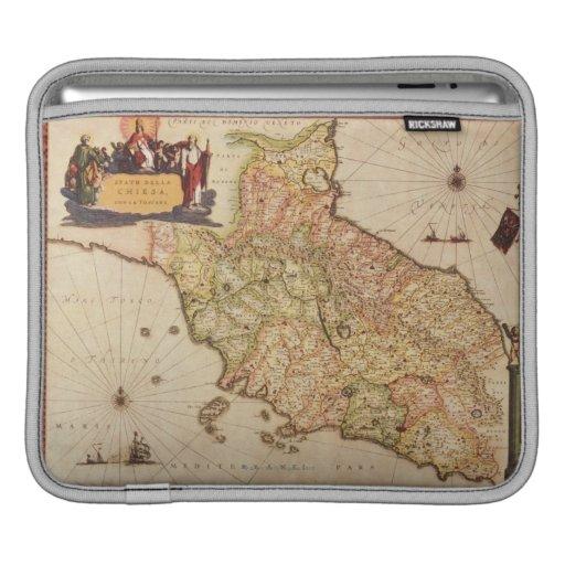 Cartografía del renacimiento fundas para iPads