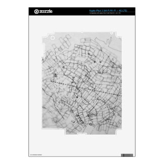 cartografía iPad 3 skin
