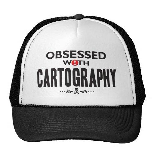 Cartografía obsesionada gorras de camionero