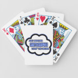 Cartographer .. Livin' The Dream Bicycle Playing Cards