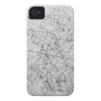cartography iPhone 4 Case-Mate case