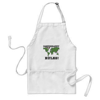Cartography Rules Aprons