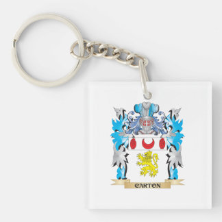 Carton Coat of Arms - Family Crest Keychains