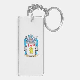 Carton Coat of Arms - Family Crest Rectangular Acrylic Keychain