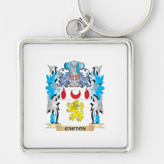 Carton Coat of Arms - Family Crest Key Chains
