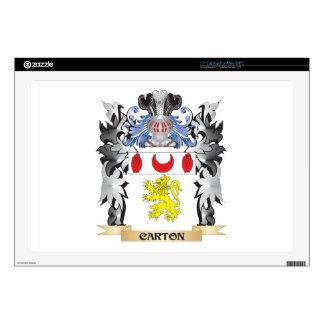 Carton Coat of Arms - Family Crest Laptop Skin