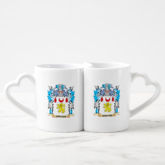 Carton Coat of Arms - Family Crest Couple Mugs