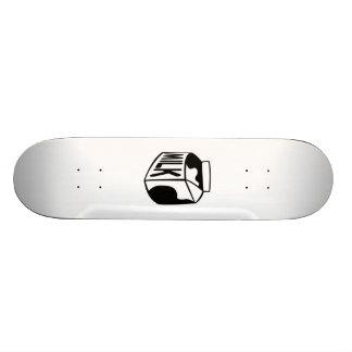 Cartón de la leche tablas de skate