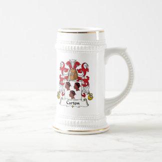 Carton Family Crest Mugs