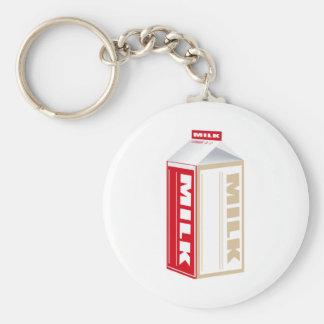 carton of whole milk key chains