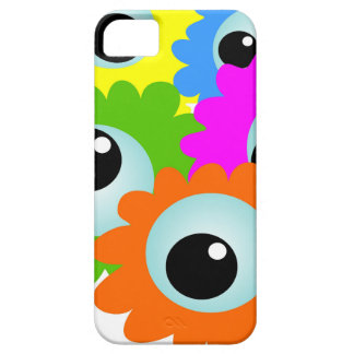 cartoon-268508 cartoon, eyes, flowers, nature, wac iPhone 5 covers