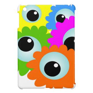 cartoon-268508 cartoon, eyes, flowers, nature, wac cover for the iPad mini