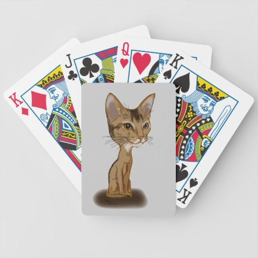 Cartoon Aby Bicycle Playing Cards