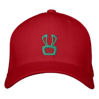 Cartoon Acid Oscar the Bunny Hat (Green Logo) Embroidered Baseball Caps