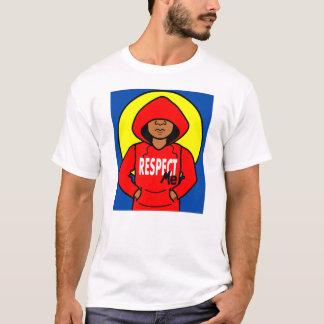 Cartoon African American Boy Wearing Red Hoodie