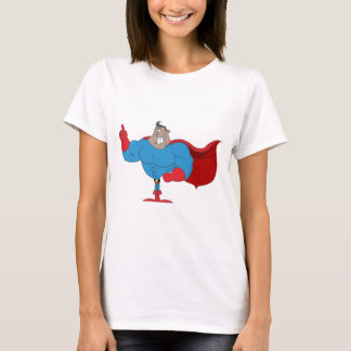 Cartoon African American Hero T-Shirt