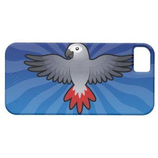 Cartoon African Grey / Amazon / Parrot iPhone SE/5/5s Case