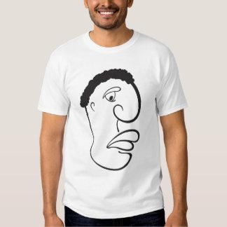 Cartoon African Man T-shirt