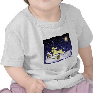 Cartoon Agility Dog Christmas Baby's T-shirts