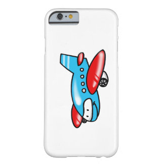 cartoon airplane barely there iPhone 6 case