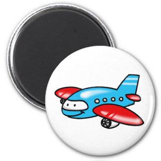 cartoon airplane magnet