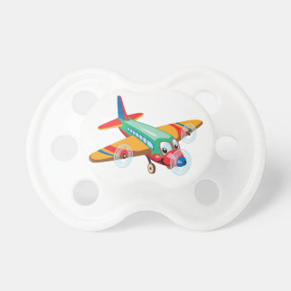 cartoon airplane pacifier
