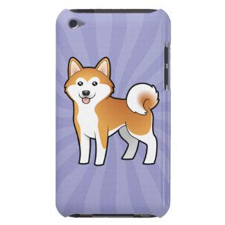 Cartoon Akita Inu / Shiba Inu Barely There iPod Cover