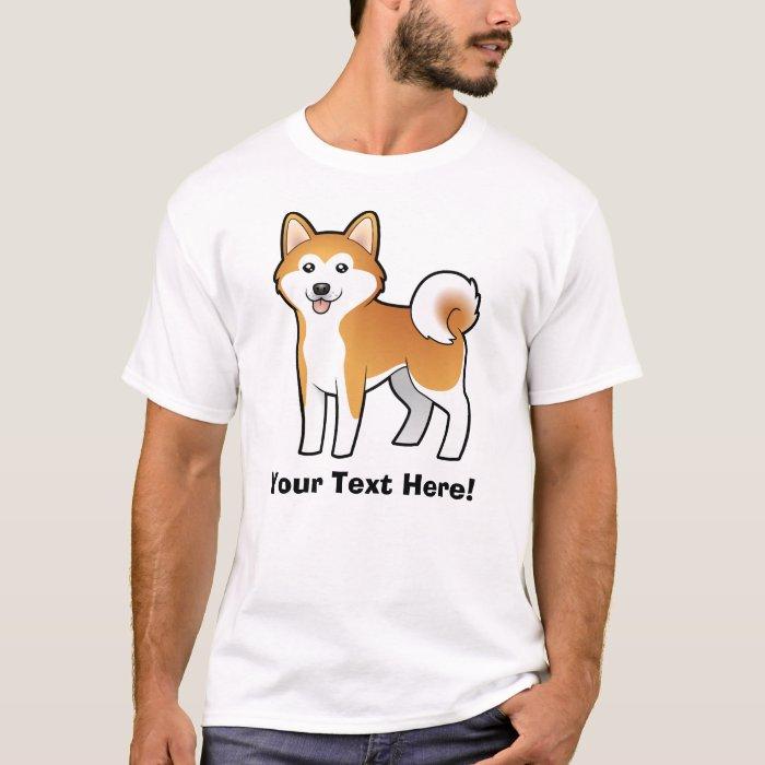 Cartoon Akita Inu / Shiba Inu T-Shirt
