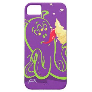 cartoon alien eating ice cream iPhone SE/5/5s case