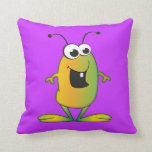 Cartoon Alien Pillow