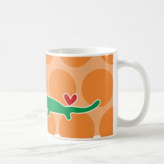 Cartoon Alligator Kid Cute Fun Custom Gift Mug