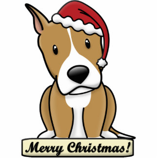 Cartoon Am Staff Christmas Ornament Photo Cut Outs