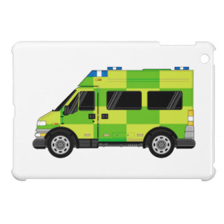 Cartoon Ambulance iPad Mini Case