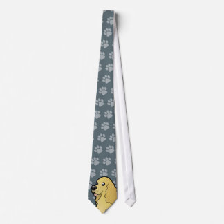 Cartoon American Cocker Spaniel Tie