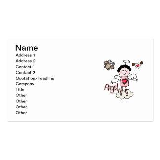 Cartoon Angel Business Card