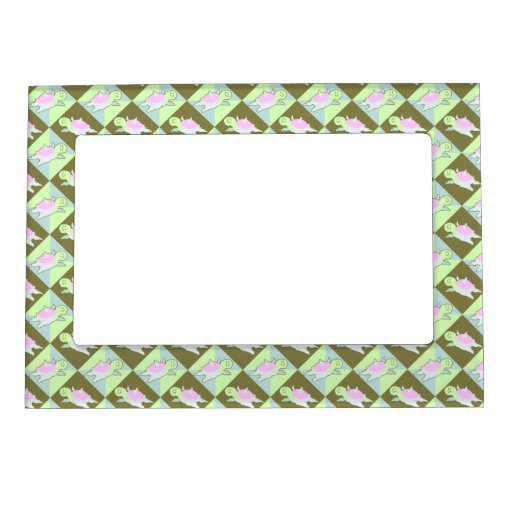 Cartoon Angel Turtle Pattern Magnetic Picture Frame