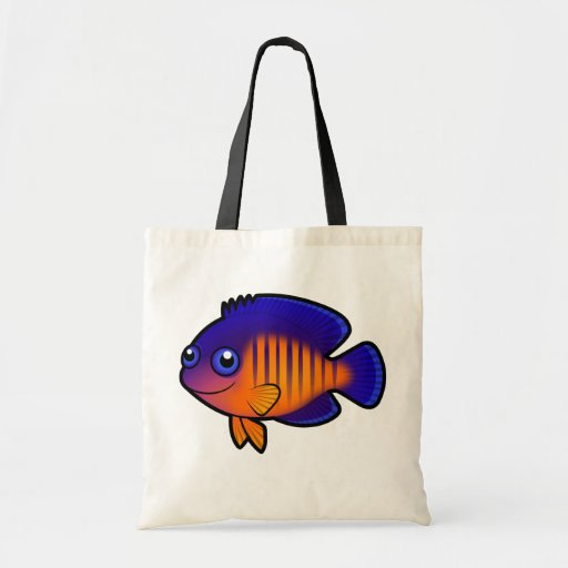 Cartoon Angelfish 1 Bags