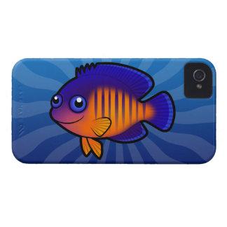 Cartoon Angelfish 1 Case-Mate iPhone 4 Case